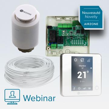 Nouvelles solutions de contrôle pour le chauffage à eau