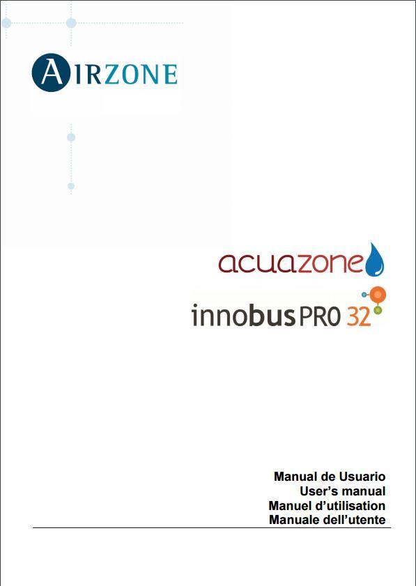 Manuel utilisation Innobus Pro32 et Acuazone