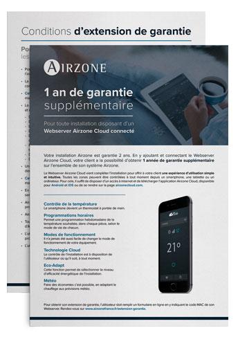 Extension de garantie Airzone