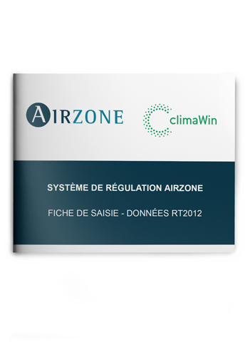 Fiche de saisie Airzone – CLIMA-WIN