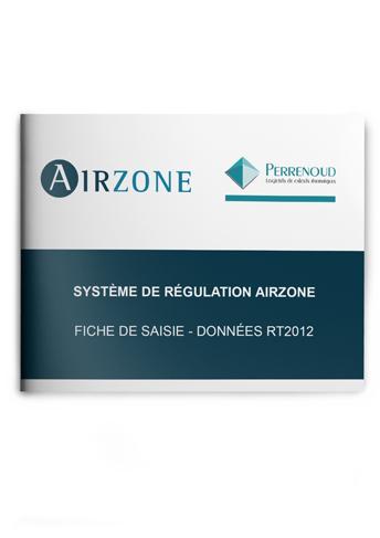 Fiche de saisie Airzone – PERRENOUD U22WIN RT2012