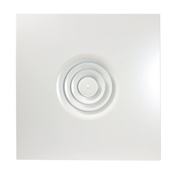 Diffuseur circulaire intégré pour plafond modulaire