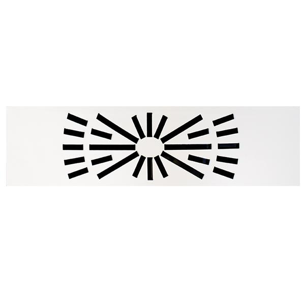 Diffuseur hélicoïdal dalle rectangulaire pour plafond modulaire