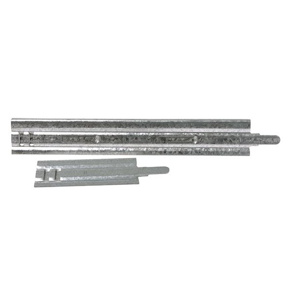 Contre-cadre en tôle galvanisée pour la fixation de grilles