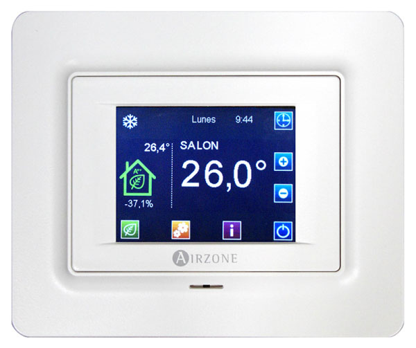Thermostat intelligent BLUEFACE encastré filaire