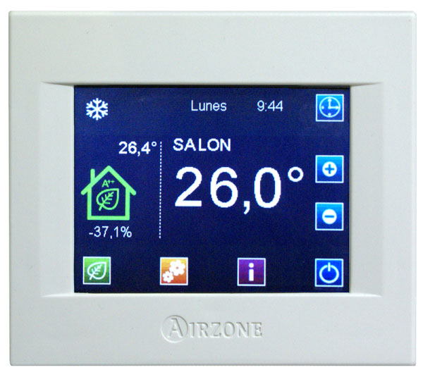 Thermostat intelligent BLUEFACE en saillie filaire