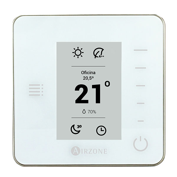 Thermostat Radiant monochrome Airzone Think filaire (RA6)