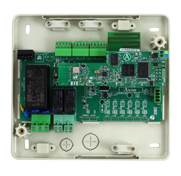 Platine centrale Airzone du système RadianT VALR Cloud dual 2.4-5G pour radiateurs - 8 zones