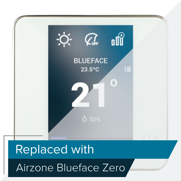 THERMOSTAT IBPRO32 COULEUR AIRZONE BLUEFACE FILAIRE (DI6)