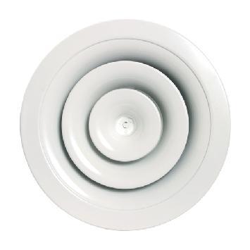 Diffuseur circulaire avec plénum
