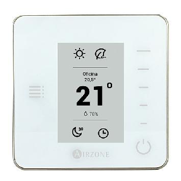 Thermostat Radiant monochrome Airzone Think radio (RA6)