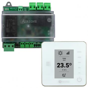 PACK AIRZONE UNO VENTILO-CONVECTEUR 0-10 V ET THERMOSTAT THINK RADIO