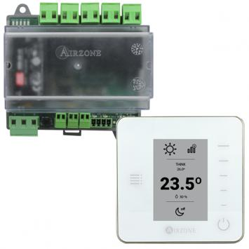 PACK AIRZONE UNO Ventilo-convecteur 3 vitesses ET THERMOSTAT THINK RADIO